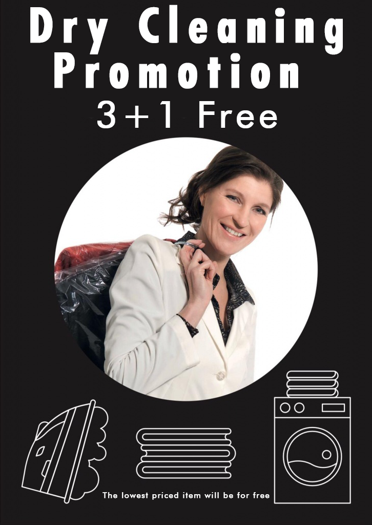 dry cleaning 3+1free, tailor, eindhoven